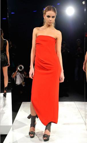 Lublu Kira Plastinina FW 2011 на показе на Нью-Йоркской неделе моды. Изображение № 26.