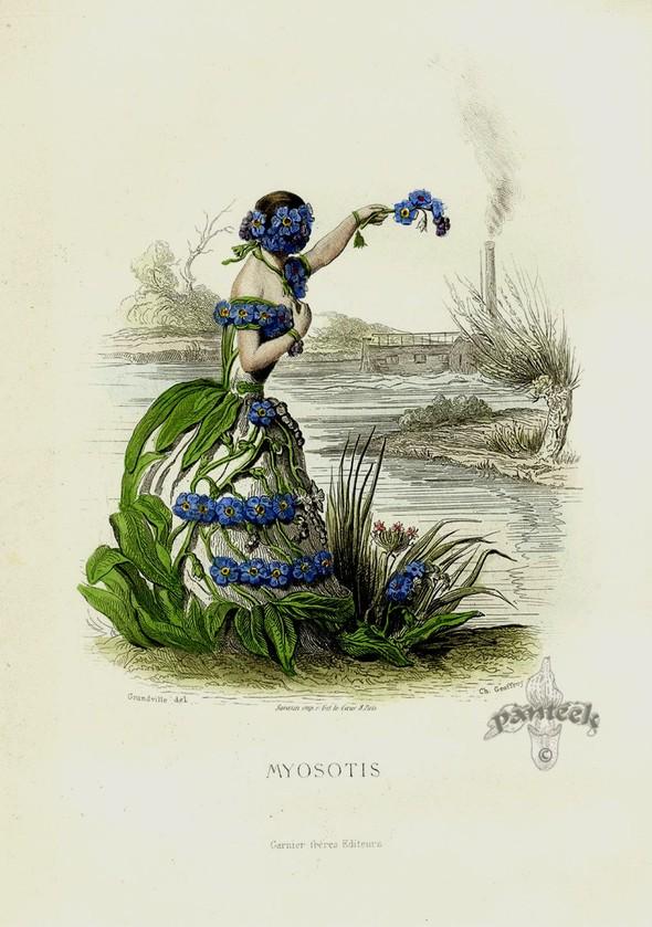 Винтажные иллюстрации J.J. Grandville. Изображение № 11.