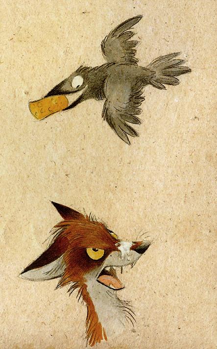 Забавные иллюстрации из жизни лисиц от Skia. Изображение № 1.
