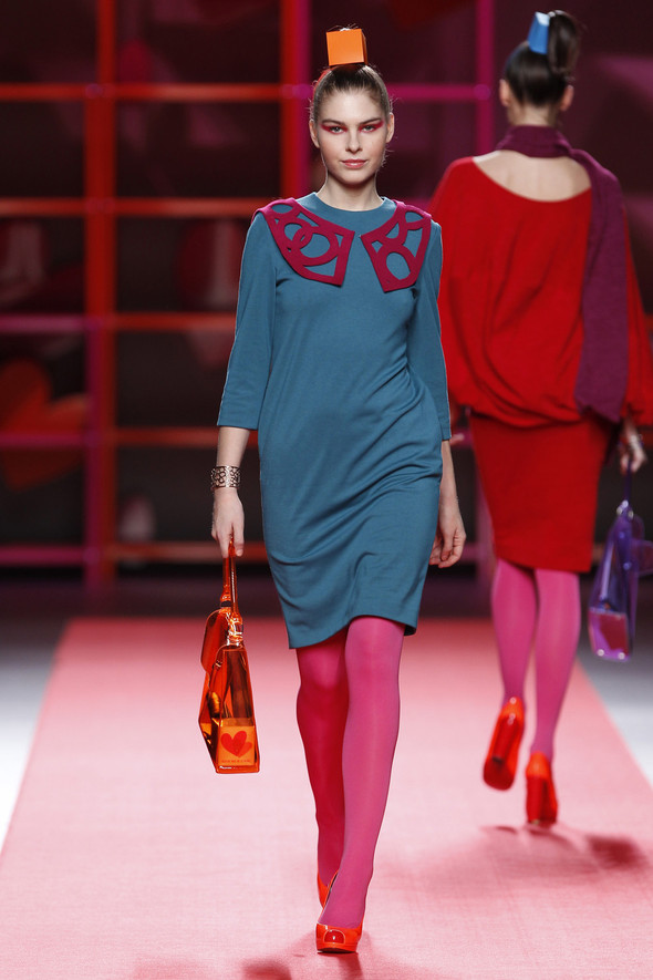 Madrid Fashion Week A/W 2012: Agatha Ruiz de la Prada. Изображение № 17.