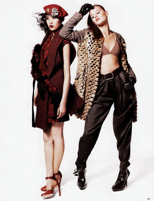 Vogue China – October 2009 – The New Fur. Изображение № 1.