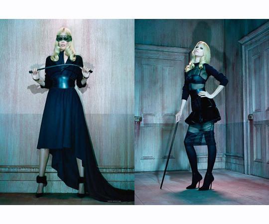 Съёмка в немецком Vogue, сентябрь 2011. Изображение № 67.