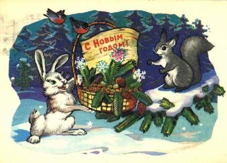 Новогодняя ирождественская открытка. Изображение № 33.