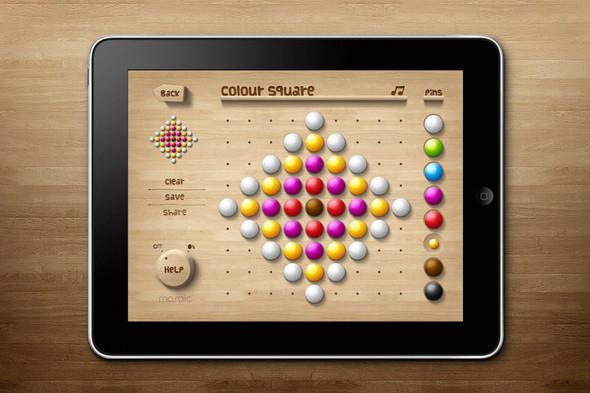 Мозаика - iPad игра для взрослых и детей. Изображение № 1.