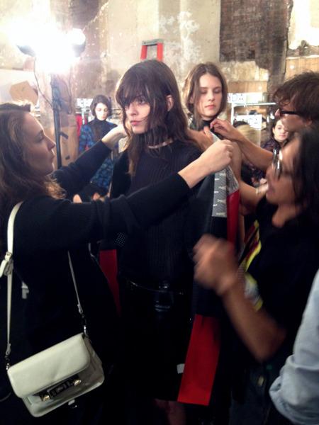 Дневник модели: Эксклюзив для Proenza Schouler на Нью-Йоркской неделе моды. Изображение № 34.