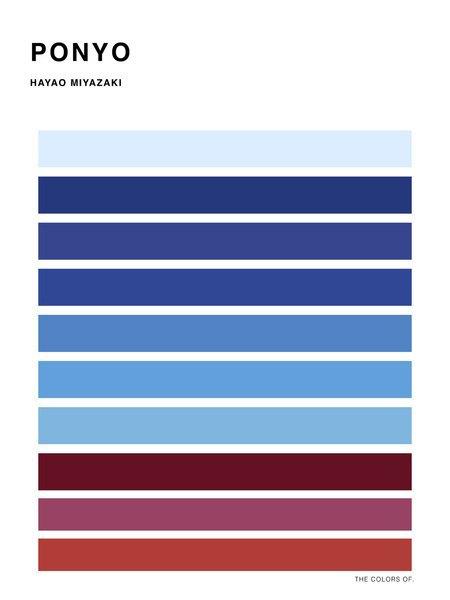 Дизайнер выбрал цвета из фильмов Миядзаки и Disney. Изображение № 3.