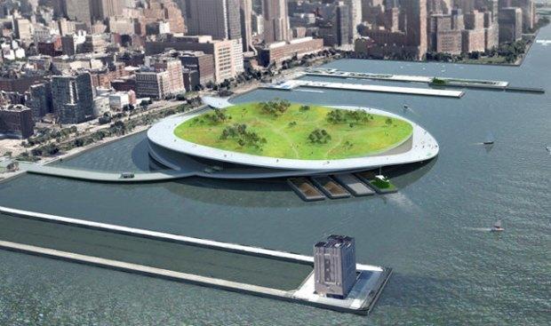 В Нью-Йорке могут построить новые острова. Изображение № 1.
