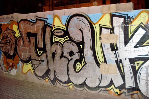 Стрит-арт и граффити Валенсии, Испания. Изображение № 12.
