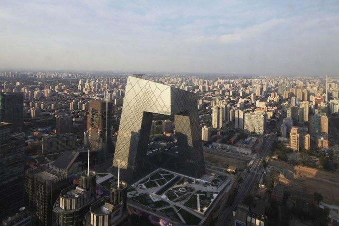 Лучший офис - штаб-квартира телеканала CCTV в Пекине. Изображение № 3.
