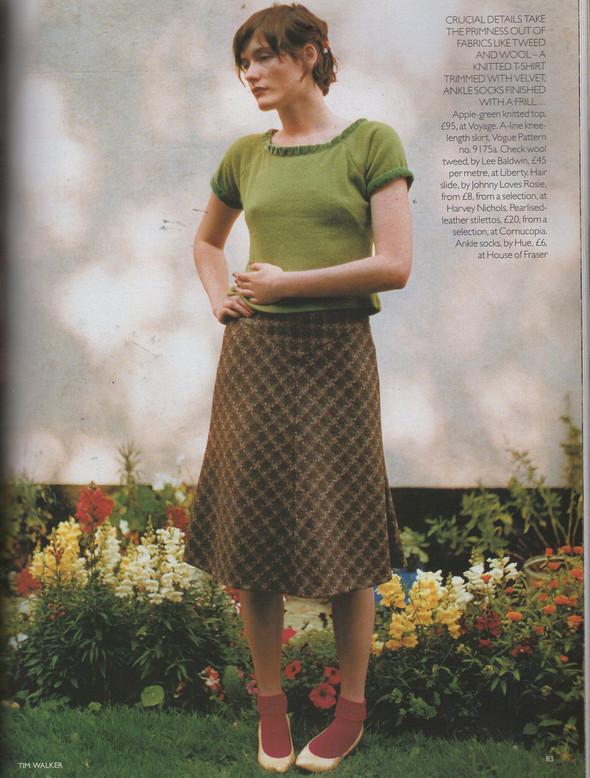 Архивная съёмка: Тим Уокер для Vogue, 1996. Изображение № 10.