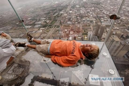 Смотровая площадка насамом высоком небоскрёбе США. Изображение № 4.