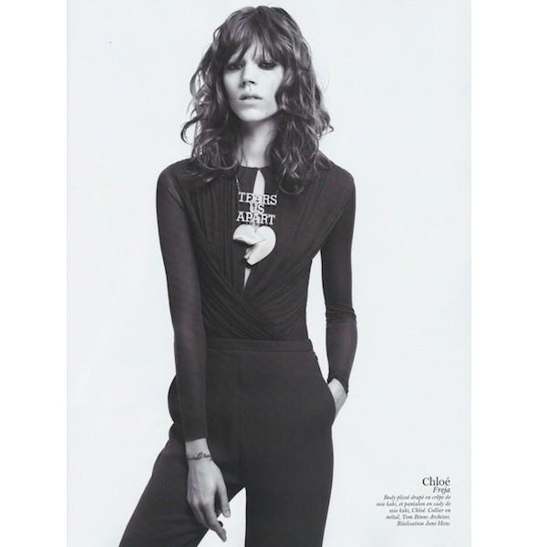 Изображение 47. Съемки: Harper's Bazaar, Industrie, Vogue и другие.. Изображение № 94.