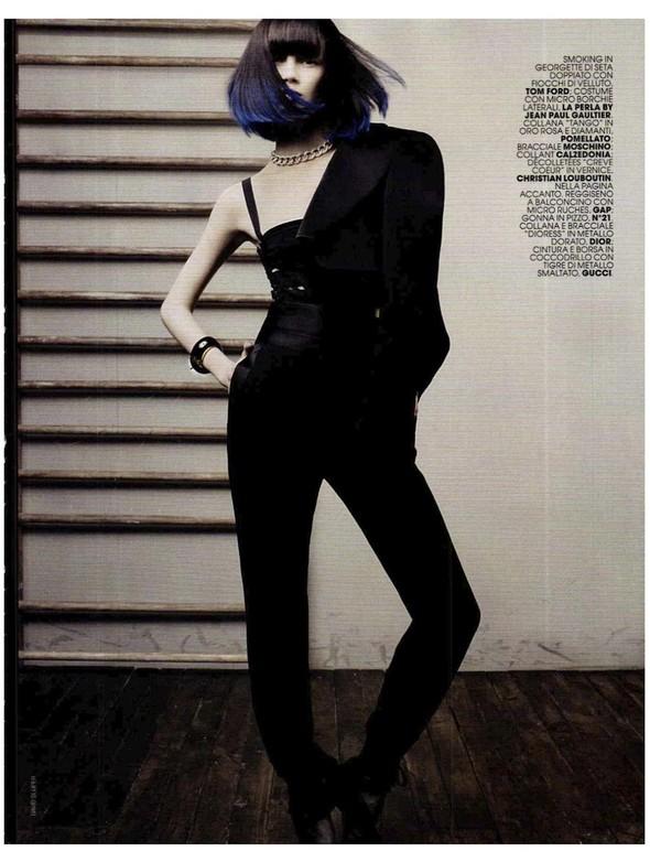 Съемки: Vogue, Numero, Tush и другие. Изображение №41.