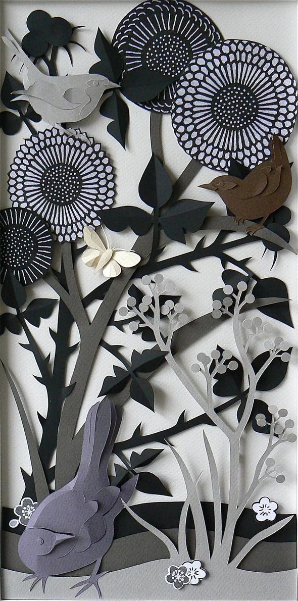 Бумажные картины-аппликации Helen Musselwhite. Изображение № 39.