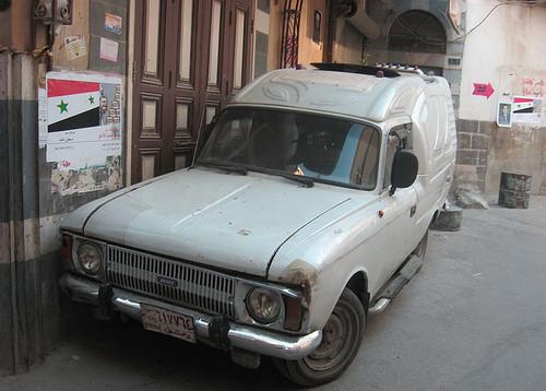 Ретро-автомобили в Сирии. Изображение № 10.