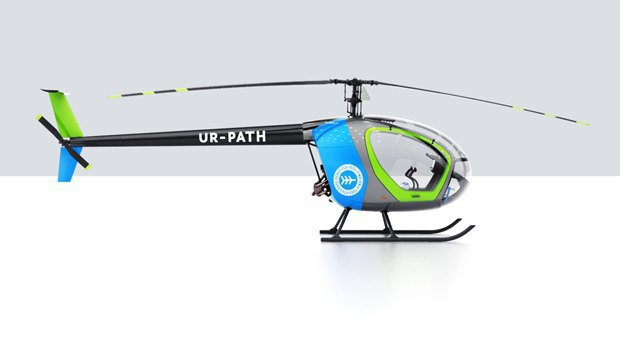 «Студия Артемия Лебедева» разработала корпус вертолёта. Изображение № 2.