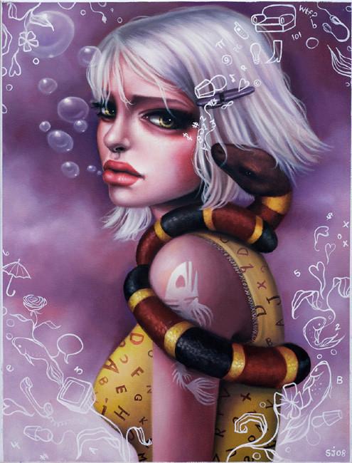 Sarah Joncas – девушки, рыбы измеи. Изображение № 16.