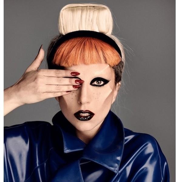 Изображение 1. Леди Гага в съемке для i-D.. Изображение № 1.