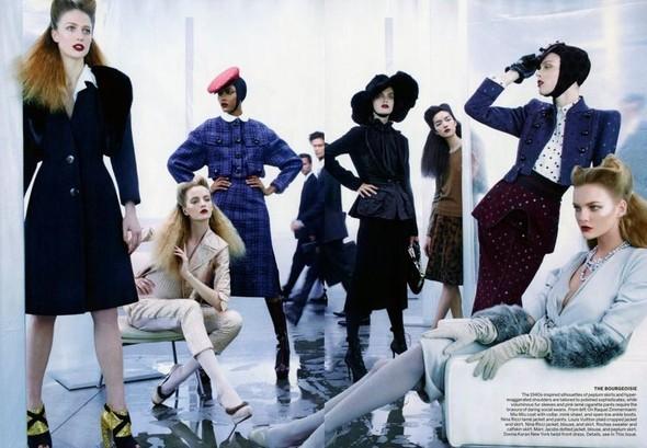 Съёмка: Стивен Майзел для Vogue. Изображение № 4.