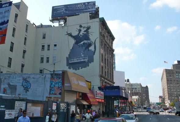 Изображение 7. Banksy (уличная мышь – герой).. Изображение № 7.