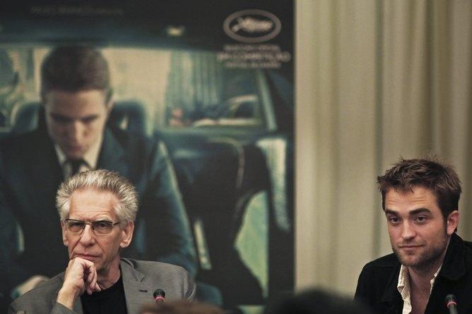 Кроненберг и Паттинсон на показе фильма «Космополис». Изображение № 1.