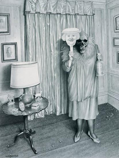 Laurie Lipton «Сюрреализм внутри нас». Изображение № 4.