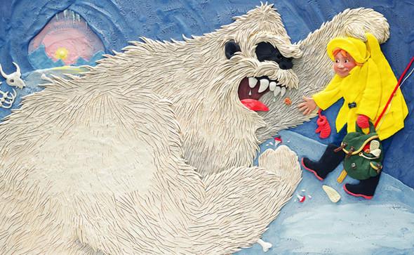Пластилиновый illustrator. Изображение № 1.