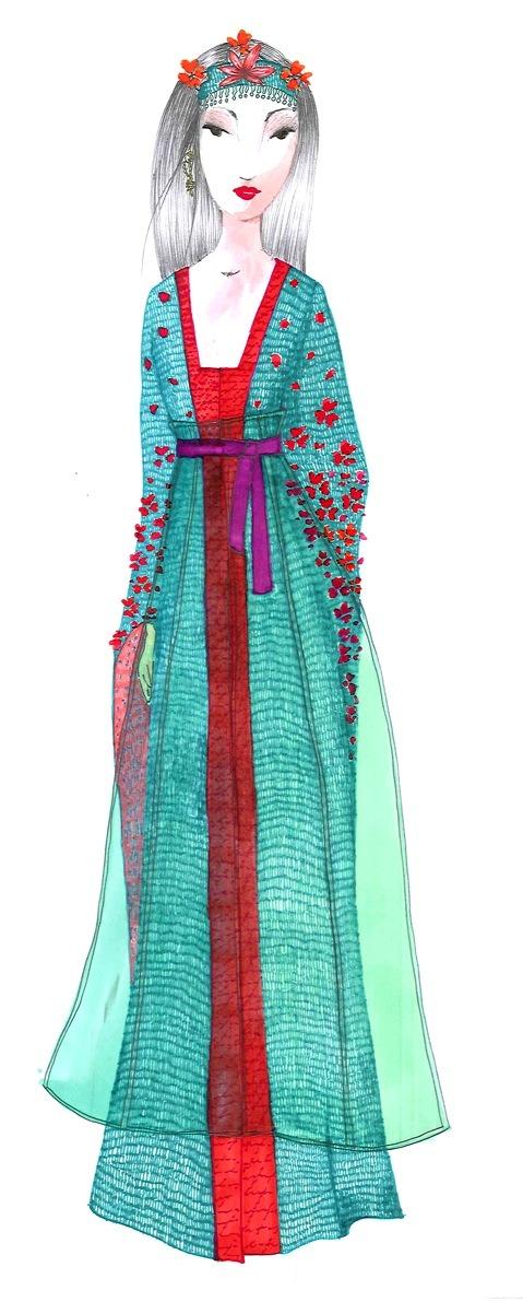 10 платьев диснеевских принцеcc от мировых дизайнеров в Harrods. Изображение №8.