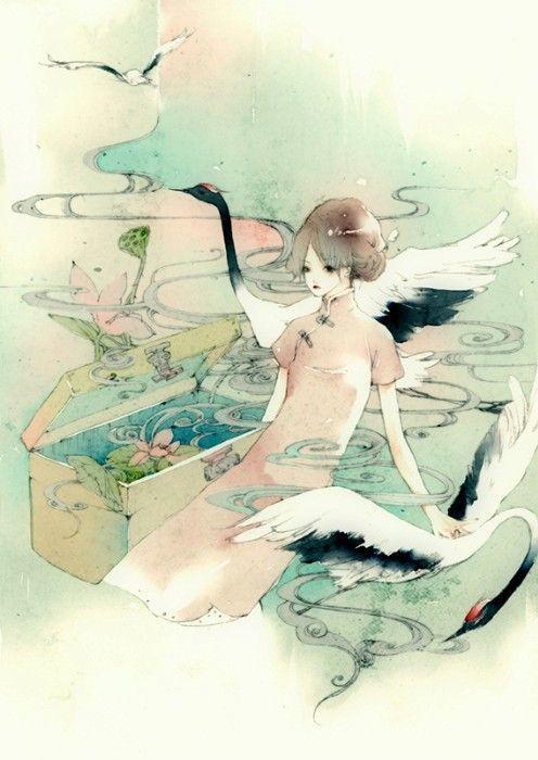 Китайская иллюстрация. Изображение № 4.