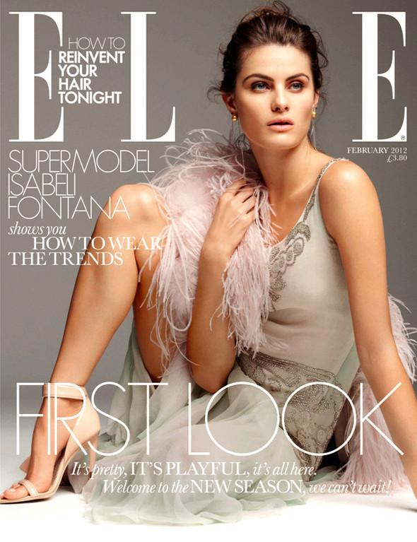 Обложки Elle: Аргентина, Британия, Италия и Канада. Изображение № 2.