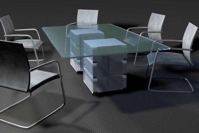 Дизайнер создал мебель изкомпьютера Apple. Изображение № 12.