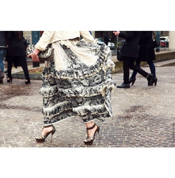 Изображение 174. На полях: 10 тенденций уличного стиля с прошедших недель моды.. Изображение № 174.