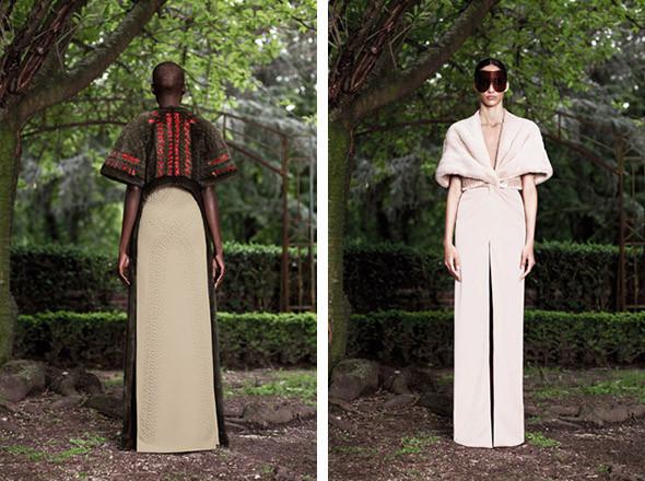 Кутюр в деталях: Маски, бисер и кожа в коллекции Givenchy. Изображение № 25.
