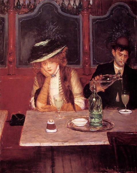 Жан Беро, Пьяницы. Изображение № 20.