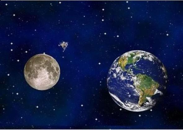 """Комикс """"Земля и Луна"""". Изображение № 8."""