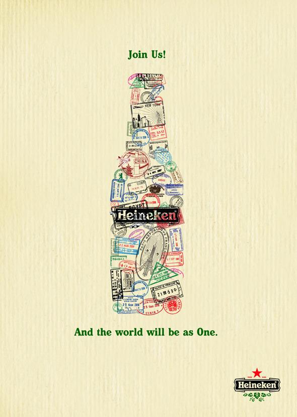 50 примеров использования типографики в рекламе. Изображение № 37.
