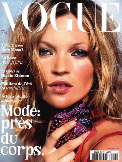 Кейт Мосс на обложках vogue. Изображение № 24.