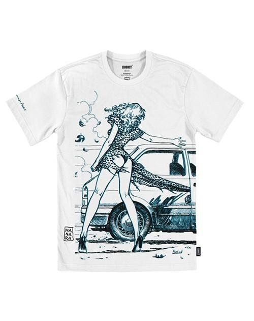 Арт серии футболок Addict. Изображение № 6.