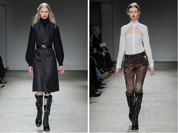Изображение 3. Показы на Paris Fashion Week FW 2011: день 1.. Изображение № 4.