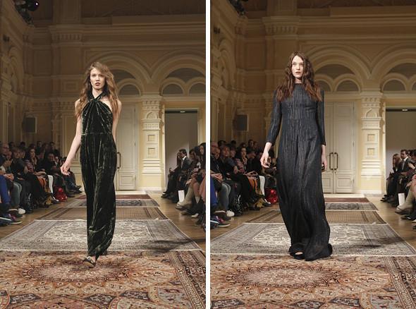 Изображение 16. A'la Russe FW 2011: пальто в пол и широкие брюки.. Изображение № 16.