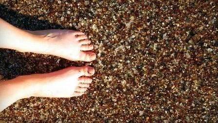 Стеклянный пляж в Калифорнии. Изображение № 6.