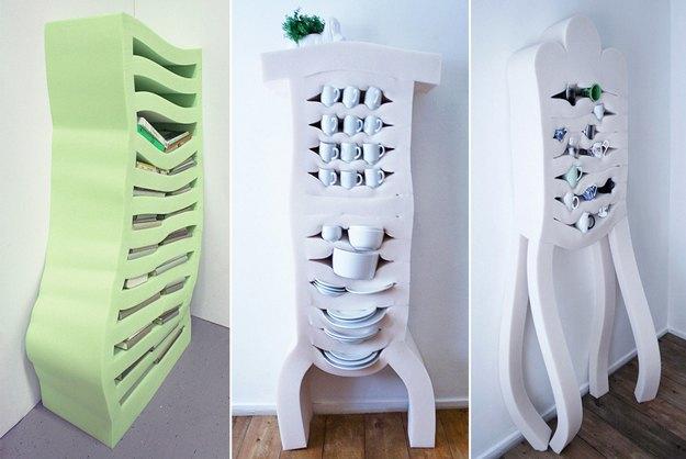 Голландские дизайнеры создали линейку мягких шкафов. Изображение № 1.