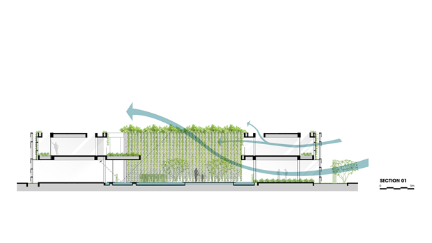 Архитектура дня: белый спа-центр во Вьетнаме с растениями на фасаде. Изображение № 26.
