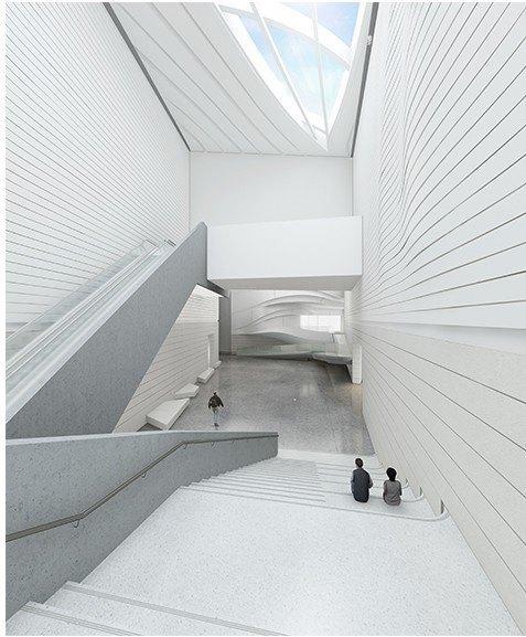 Архитектура дня: музей в Китае сбелым «слоёным» фасадом. Изображение № 25.