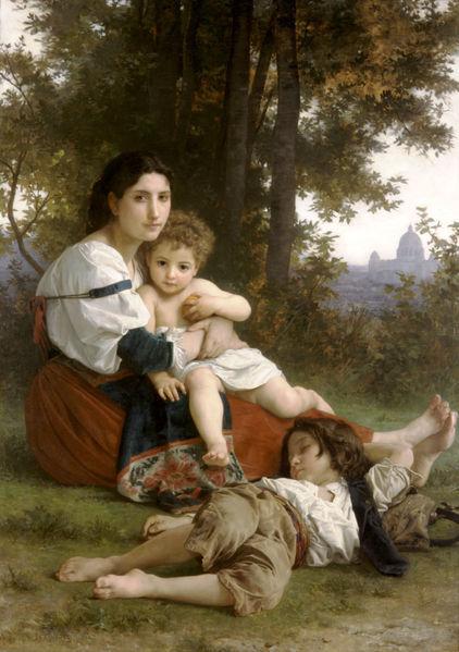 Французский живописец Адольф Вильям Бугро. Изображение № 14.