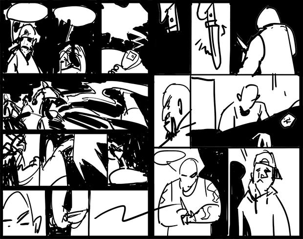 Улицы разбитых фонарей: как я рисую комикс о копах. Изображение № 4.