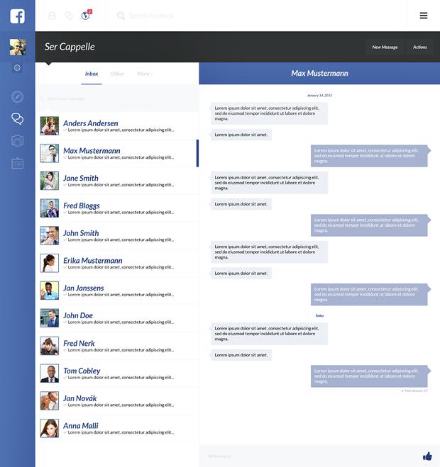 Редизайн дня: полностью новая веб-версия Facebook. Изображение № 12.
