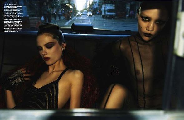 Съемки: Numero, Vogue, W и другие. Изображение №14.
