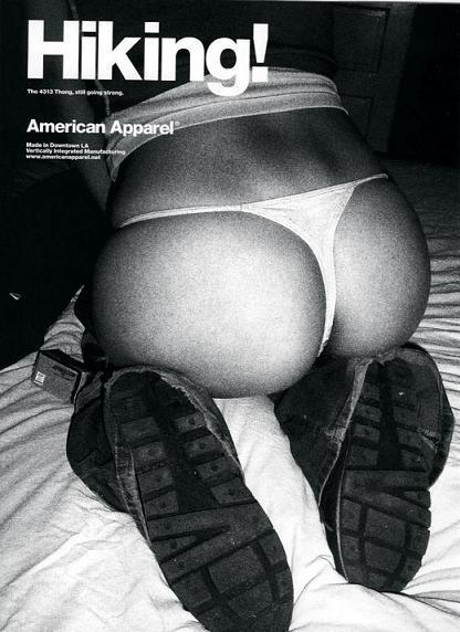 Сексуальная провокация American Аpparel. Изображение № 4.