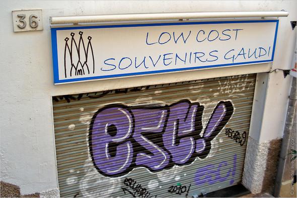Стрит-арт и граффити Барселоны, Испания. Изображение № 8.